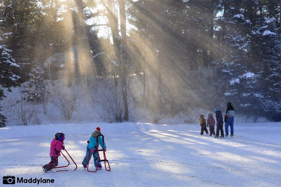 Patinage sur glace dans Vaudreuil-Soulanges