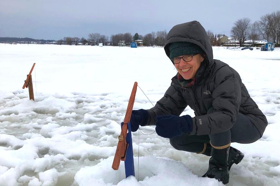 Blogue ExploreVS - La pêche blanche pour les nuls