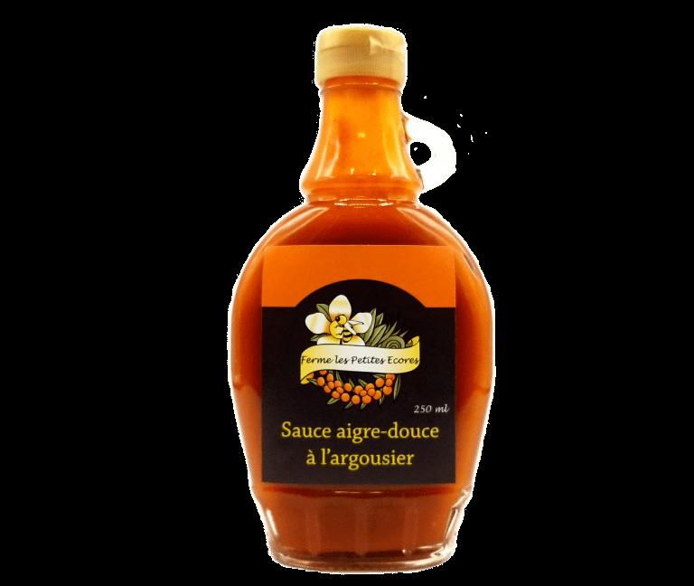 Sauce aigre-douce à l'argousier de la Ferme Les Petites Écores