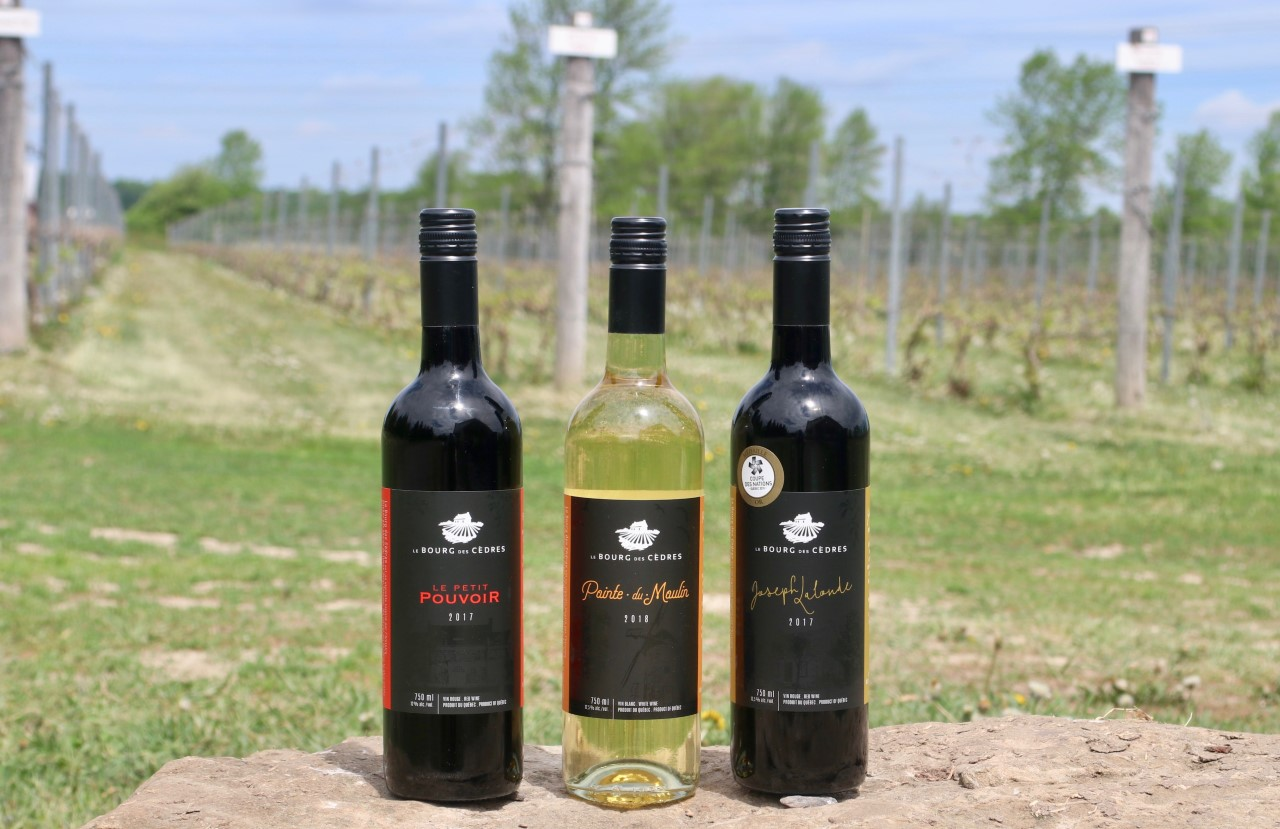 Trio vinos Le Bourg des Cèdres