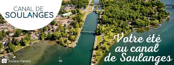 Votre été au canal de Soulanges