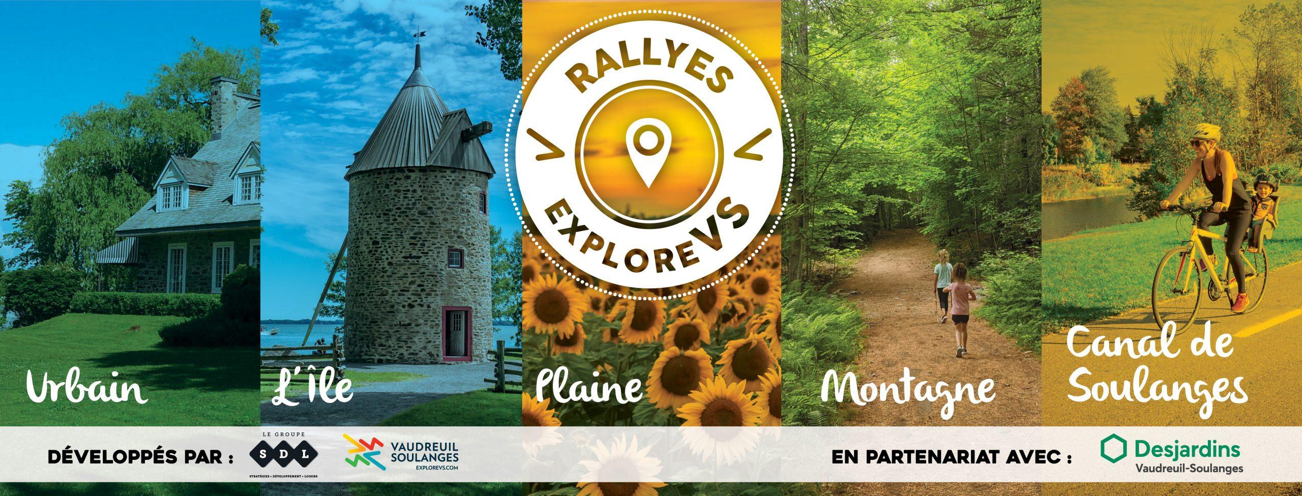 Les Rallyes ExploreVS de l'été 2020