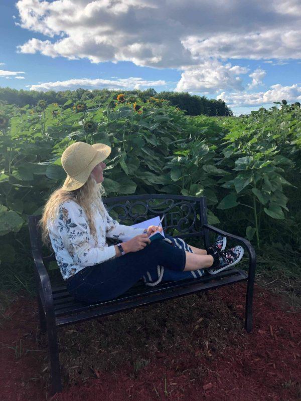 Blogue Explore VS - Tournesols et couchers de soleil à la ferme