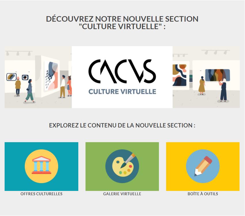 Site Web du CACVS